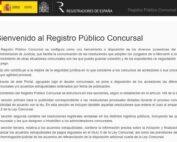 ¿Qué es y cómo funciona el Registro Público Concursal?